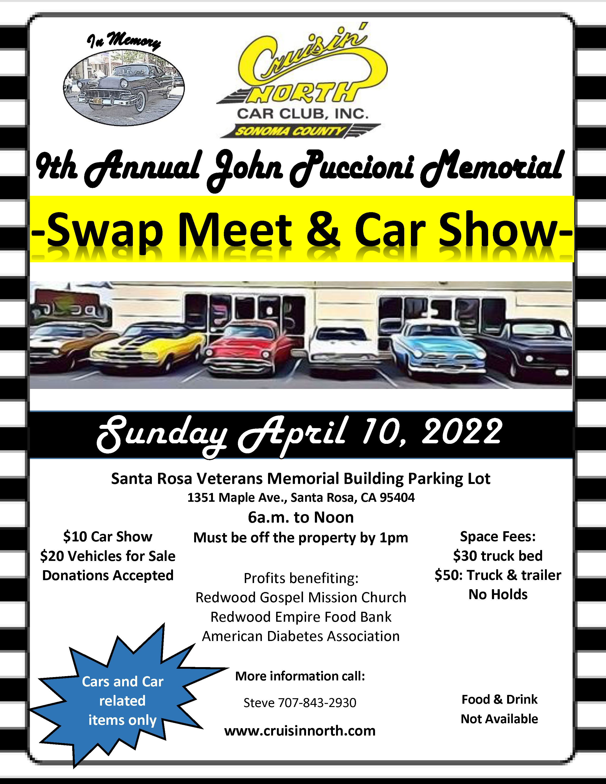 Swap Meet Flier 2022